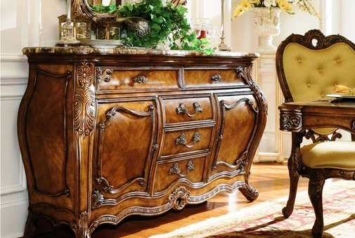 Classic Rococo Antique French Country Furniture, Pictures