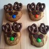 Fun to Make and Eat Reindeer Cookie