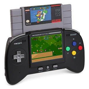 Retro Duo Portable NES/SNES Game System