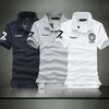 Men's Fashion Casual Short Sleeves Shirt Slim Polo Solid Tee Tshirt