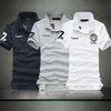 Men's Fashion Casual Short Sleeves Shirt Slim Polo Solid Tee Tshirt