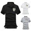Men's Fashion Casual V-Neck Short Sleeves Shirt Slim Polo Solid Tee Tshirt
