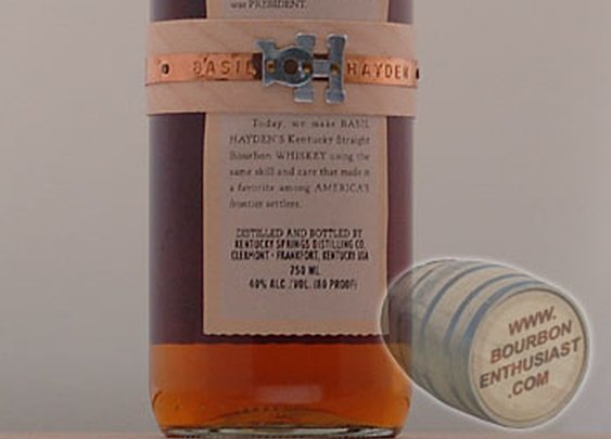 Basil Hayden's Bourbon.
