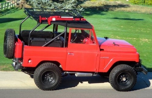 1963 Nissan Patrol 4x4 — The Man's Man