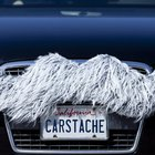 Wisdom Grey Carstache | Carstache® Car Mustaches