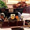 Gourmet Food Gifts - Men's Cigar Chest Basket