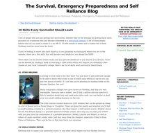 10 Skills Every Survivalist Should Learn - StumbleUpon