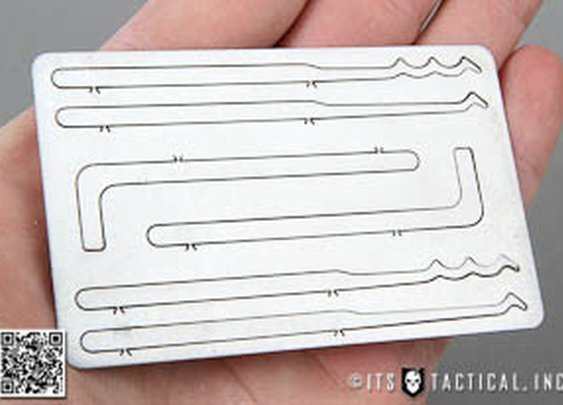 ITS Titanium Entry Card