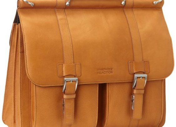 "Kenneth Cole Messenger Bag: ""Mind Your Own Business"""