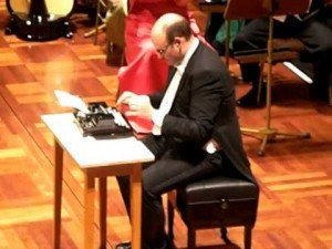 """Leroy Anderson's """"The Typewriter"""""""