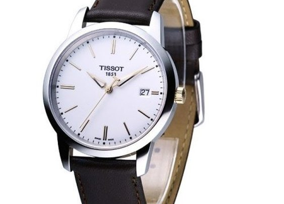 Tissot Men's Class Dream White Dial Watch