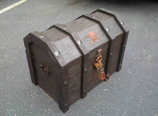 How To Make Your Own Pirate Chest Cooler