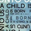 For Unto Us a Child is Born Kinetic Typography