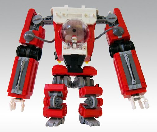 Lego Santa Mech | That Should Be Mine