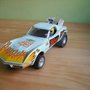 "Chevrolet Corvette Dragster Azul Celeste ""Red Devil"" (Scalextric 1975)"