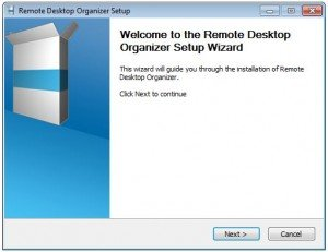 Remote Desktop Organizer for Windows 7