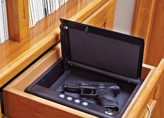Silent Access Pistol Safe - Sporty's Preferred Living