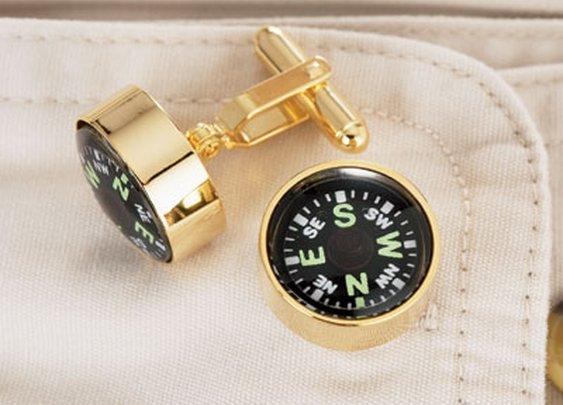 Compass Cufflinks - Sporty's Wright Bros