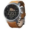 Suunto Mens Wrist Watch Elementum Ventus SS014526000 Brown Leather New | eBay