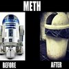 Meth- before and after
