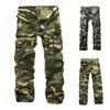 Men's Casual Camouflage Military Army Cargo Fighting Work Pants Trousers Sz28-38