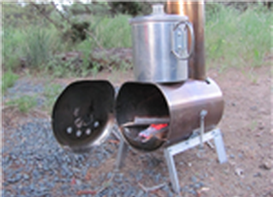 Hill People Gear | Make your own woodstove