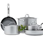 8 Piece Cookware Set with Non-Stick Fry Pans by Viking