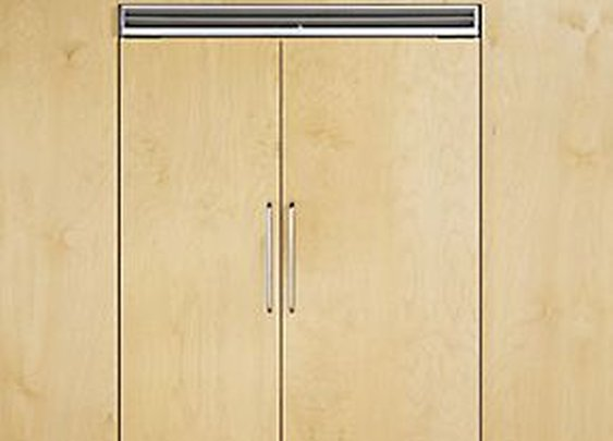 "42"" Quiet Cool™ Custom Panel Side-by-Side Refrigerator/Freezer by Viking"