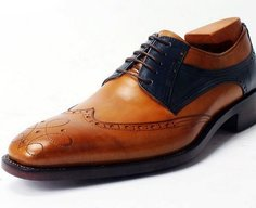 The brogues will always give you a sophisticated look
