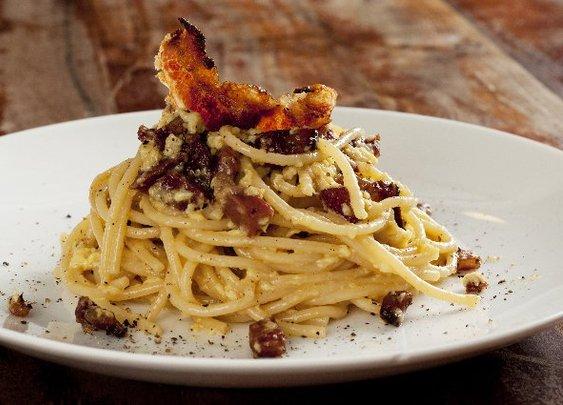 Roman-Style Spaghetti Alla Carbonara