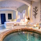 Honeymoon suite with private couples Jacuzzi @ Astarte Suites Santorini