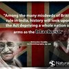 Facebook bans Gandhi quote