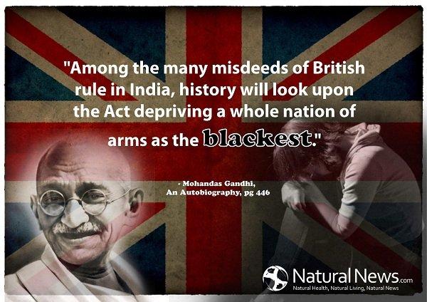 Facebook bans Gandhi quote