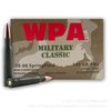 500  Rounds of  Bulk 30-06 Springfield Ammo by Wolf - 145gr FMJ