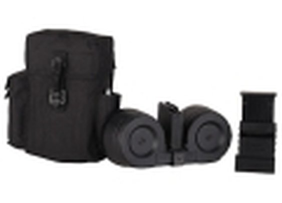 AR-Stoner Mag System AR-15 223 Remington 100-Round Drum Polymer Black