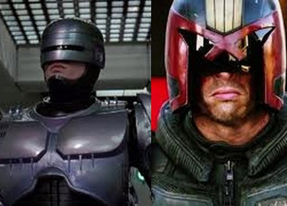 THE DEAD WAR SERIES: In a zombie apocalypse who would you rather be with,  Robocop or Judge Dredd?