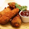 Bean-Stuffed Deep Fried Jalapeños with Salsa Roja | Serious Eats : Recipes