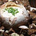 Tasty game day fare: Beer cheese dip in a bread bowl (recipe) | Daily Loaf