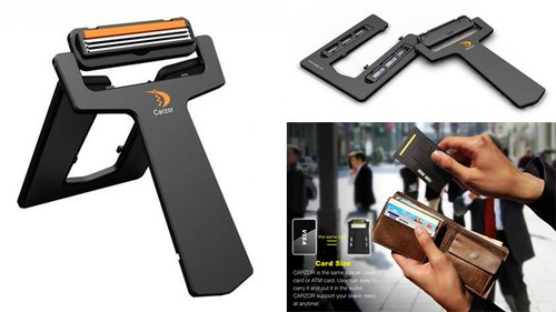 Carzor Portable Pocket Razor — The Man's Man