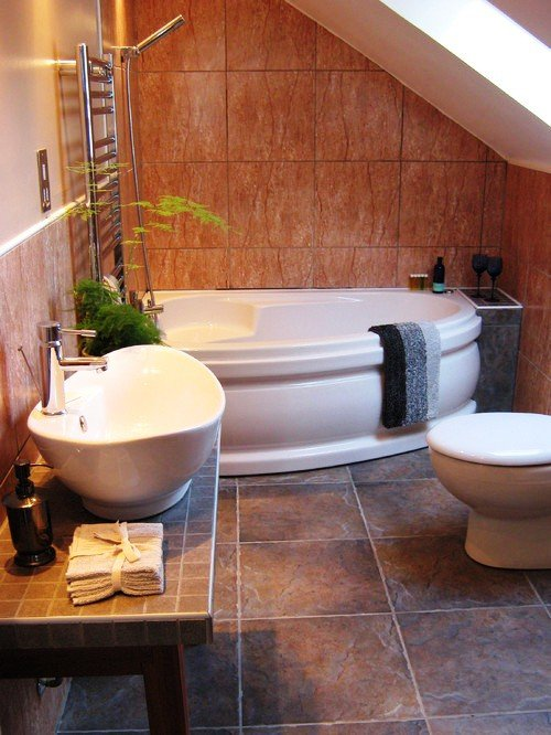 under staircase bathroom design under stairs bathroom planning - Bathroom Designs Under Stairs