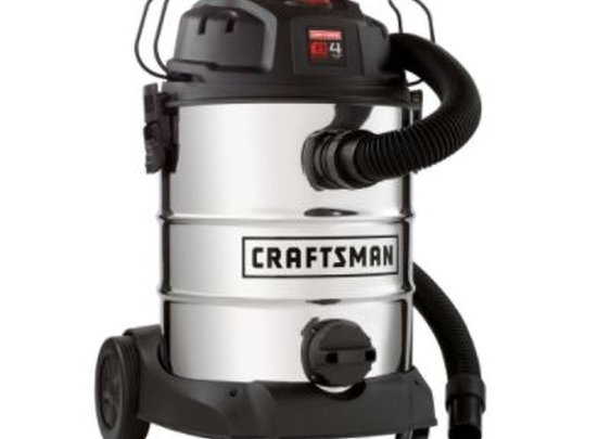 Craftsman 8 Gallon Stainless Steel Wet/Dry Shop Vac