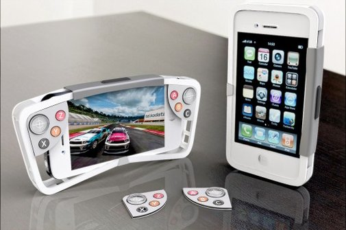 Two new iPhone cases double as game controllers