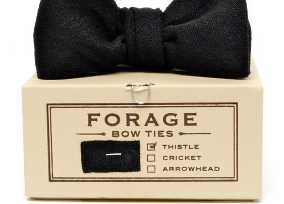 Forage - Black Bow Tie