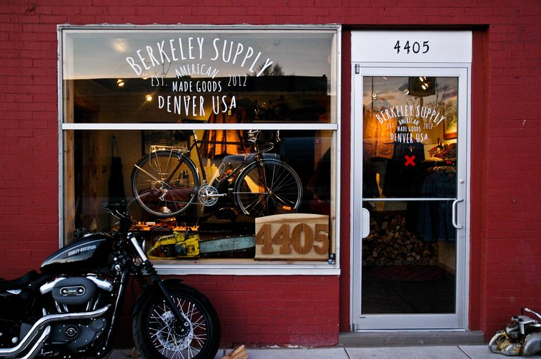 Berkeley Supply- American Made Menswear Shop- Denver, CO