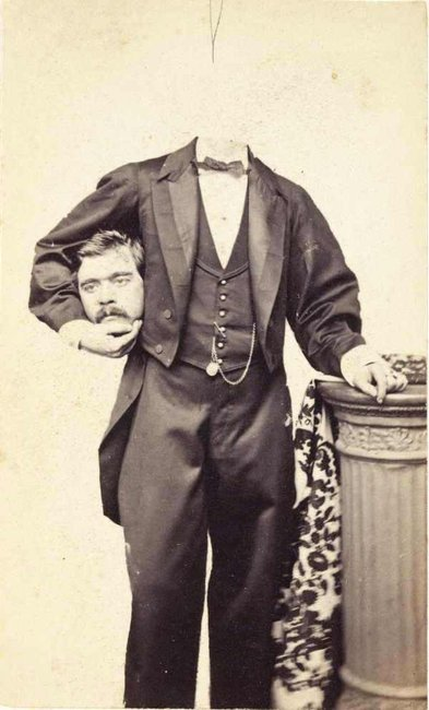 Victorian Headless Portrait Photography