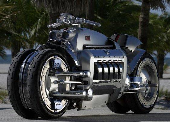 World's Fastest Motorcycle Prototype: Dodge Tomahawk | I Like To Waste My Time