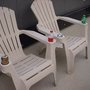 Add Cup Holders to your Resin Adirondack Chair