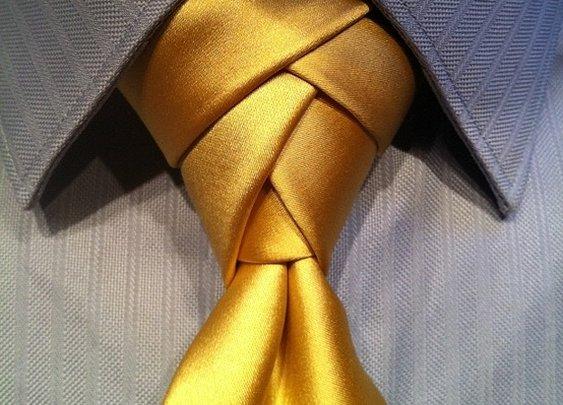 Eldredge Tie Knot - How to Tie a Eldredge Necktie Knot