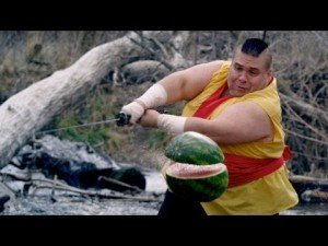 Fruit Ninja in Real Life (sort of)