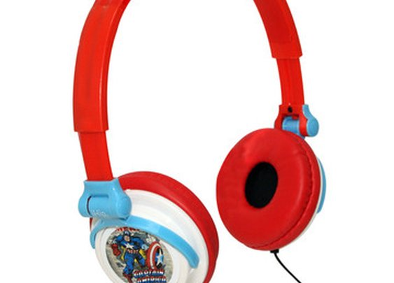 Fab.com | Retro Headphones Captain America
